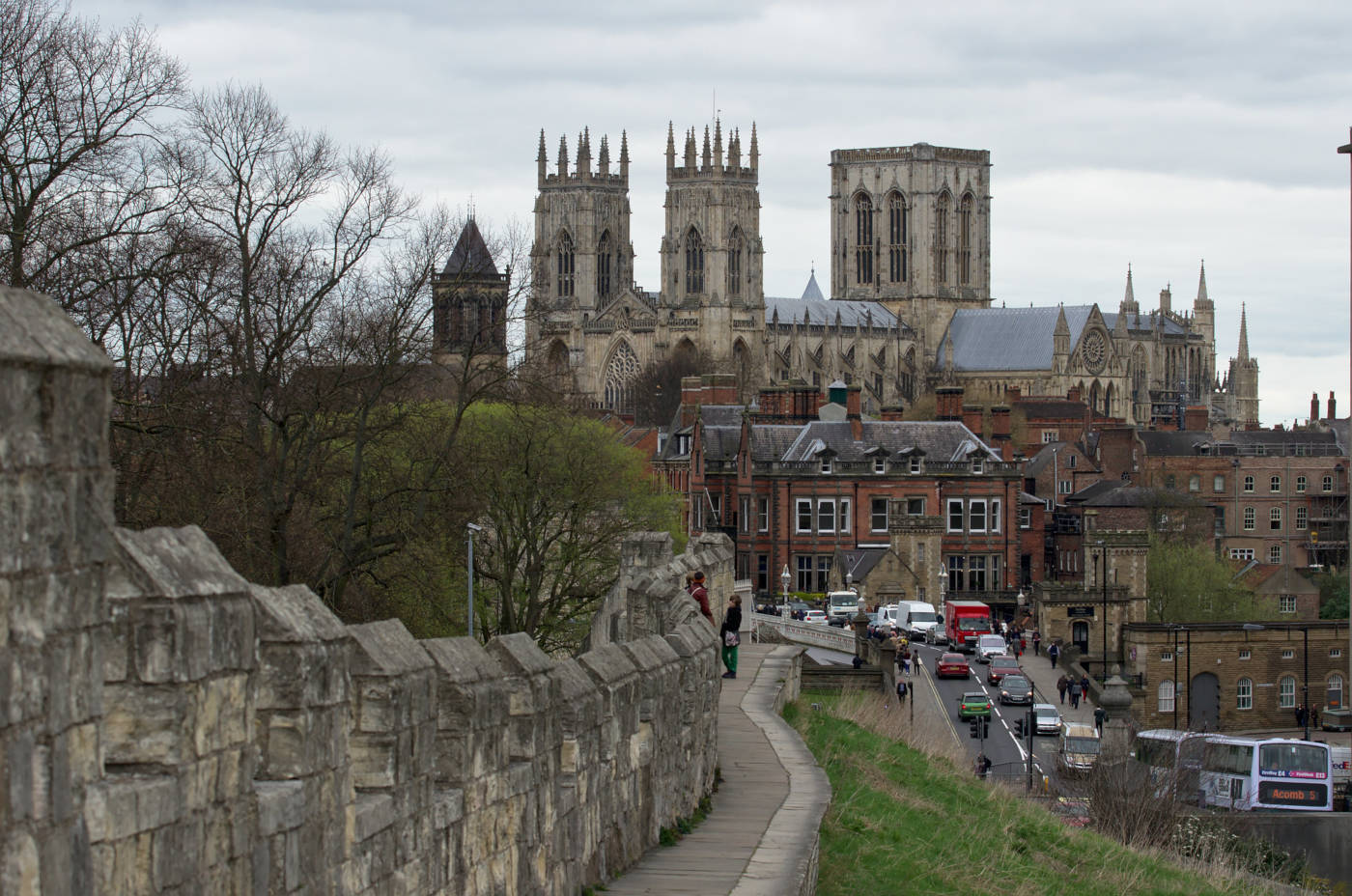 York Walls and the Minster