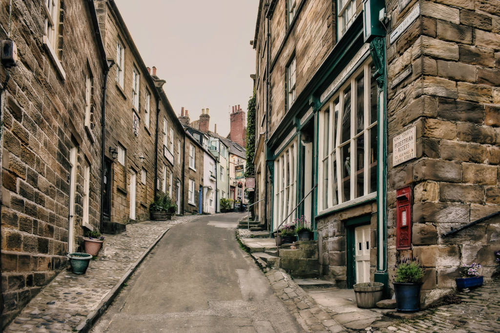 The streets of Robin Hood's Bay