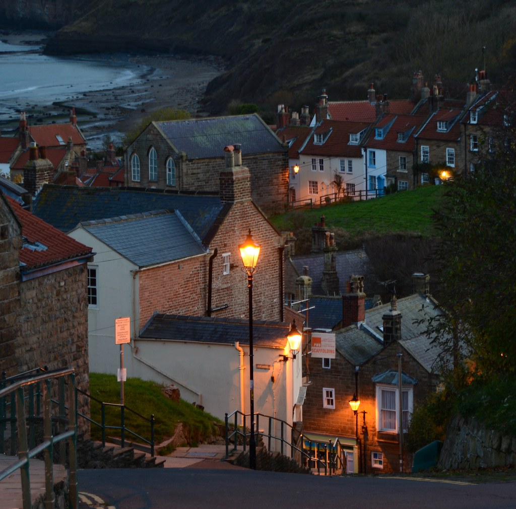 Robin Hod's Bay from above