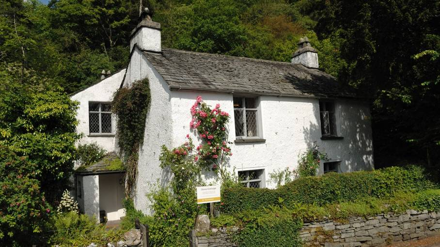 Dove Cottage in Grasmere, the Lake District